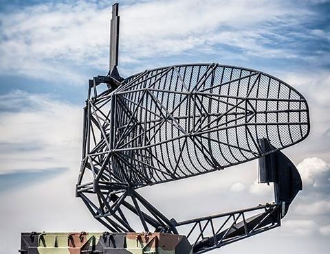 Antenna in field