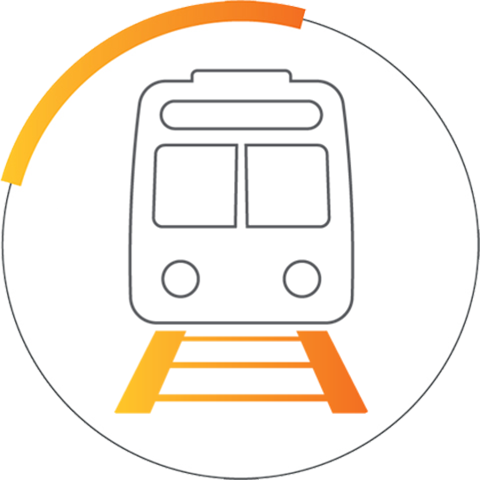 Smart Transportation Icon